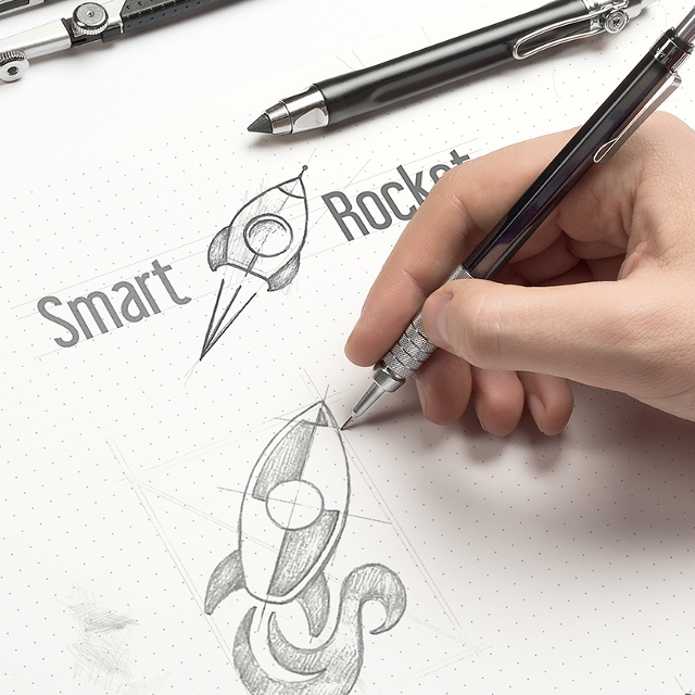 SmartRocket - Logo Design