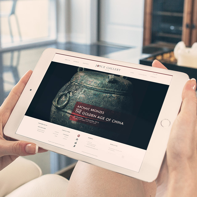 Joyce Gallery - Responsive Web Design