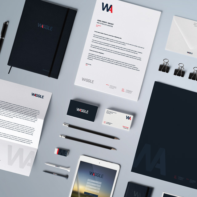 Waggle - Logo Design & Brand Strategy